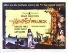 THE HAUNTED PALACE 02 B-MOVIE REPRODUCTION ART PRINT A4 A3 A2 A1