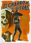 HORSEMAN OF THE SKULLS 01 B-MOVIE REPRODUCTION ART PRINT A4 A3 A2 A1