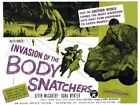 THE INVASION OF BODY SNATCHERS 05 B-MOVIE REPRO ART PRINT A4 A3 A2 A1
