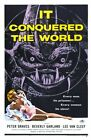 IT CONQUERED THE WORLD 01 B-MOVIE REPRODUCTION ART PRINT A4 A3 A2 A1