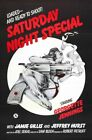 SATURDAY NIGHT SPECIAL 01 B-MOVIE REPRODUCTION ART PRINT A4 A3 A2 A1