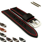 20mm, 22mm, 24mm, Genuine Leather Watch Strap / Band Croco Grand Panor - MV