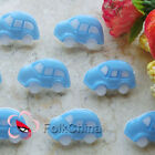 LightBlue Classic Car 25mm Plastic Buttons Sewing Scrapbooking Collectable CCB05