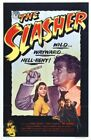 THE SLASHER 01 VINTAGE CLASSIC B-MOVIE REPRODUCTION ART PRINT CANVAS A4 A3 A2 A1