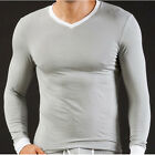 NEW Mens Tight Smooth Thermal Warm Underwear T-shirt Tops in 5Colors Size S M L