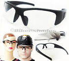 Z87 Safety Glasses Clear TR90 Motorcycle Shooting Hunting Cycling Large Wide Men