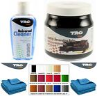 GRISON LEATHER CLEANER AND RESTORER KIT SOFA CHAIRS SUITES CAR SEATS 14 COLOURS