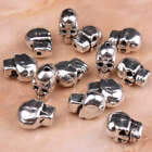 Bulk Sale Tibetan Silver Skulls Bone Spacers Beads Loose Findings Jewelry Making