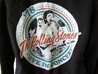 *NEW TAGGED* AMPLIFIED ROLLING STONES LIVE 1978 LADIES BLACK HOODIE SIZE M L