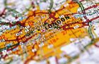 Map Of London YFS0012 Art Print A4 A3 A2 A1