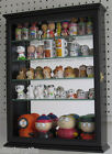 Small Wall Curio Cabinet Display Case Shadow Box for Figurines, CD06