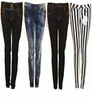 New Womens Ladies Stretch Skinny Jeans. 4 Styles Sizes 6,8,10,12,14.