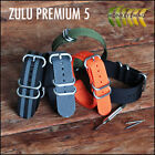 ZULU MILITARY NATO WATCH STRAP 5 RINGS