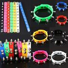 CANDY COLORS PUNK SPIKE RIVET RUBBER STAINLESS STEEL BUCKLE CUFF BRACELET BANGLE