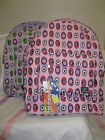 Ladies/Girls Obsessed Circle Print Backpack Two Compartments Ideal for School