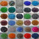 Free Shipping 100pcs Charm Glass Crystal Bicone Spacer 4mm Beads 14 Colors Pick
