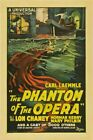 Vintage Event The Phantom Of The Opera VEP028 Art Print A4 A3 A2 A1
