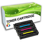 Toner Cartridges Black Cyan Magenta Yellow Replace for Colour LaserJet Printer