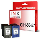 Remanufactured Ink Cartridges Replace For 56 & 57 C6656AE C6657AE