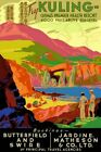 Countries Travel Poster Kuling China CTP034 Art Print A4 A3 A2 A1