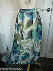 "M&S PER UNA SIZES 14 18 & 20 32"" & 35"" LENGTH FLOATY CHIFFON LINED SKIRT BNWT"