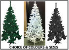 ARTIFICIAL 5ft CHRISTMAS TREE. XMAS HOME DECORATION. WHITE OR BLACK. INDOOR.