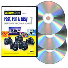 Nikon School DVD - Fast Fun & Easy 7 for D3000 D3100 D5000 D5100 & D7000 Cameras