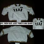 Pennsylvania Quaker Football Jacket APFL Wool Throwback Football Varsity Jacket
