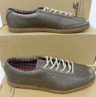 "Boxfresh Gents Mushroom Grey Leather Fashion Sneakers ""SHOCKK"""
