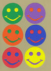 Your choice of colors on Happy Faces #3 Die Cuts