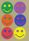 Your choice of colors on Happy Faces #3 Die Cuts - AccuCut