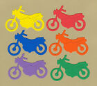 Your choice of colors on Motorcycles Die Cuts - AccuCut