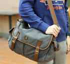 Vintage Fashion Mens Canvas Shoulder Messenger Satchel Bag New Bags in 3 Colors
