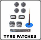 Tyre Tube Repair Patch Patches tyre Strings glue Wired plug puncture 6mm car van