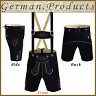 Authentic German Bavarian Oktoberfest Trachten Men Wear Short Lederhosen Outfit <br/> Traditional Lederhosen, German Costumes, German Outfit