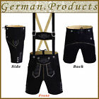 Authentic German Bavarian Oktoberfest Trachten Men Wear Short Lederhosen Outfit