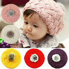 Fashion New Baby Kids Girls Warm Winter Knit Crochet Beanie Hat Cap BY-CT-B