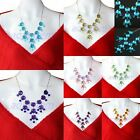 """22"""" Fashion Bubble Bid Statement Collar Choker Chain Necklace Choose From 7Color"""