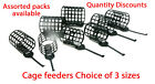 Cage feeders Round -Choose of sizes for carp,tench,groundbait Fishing