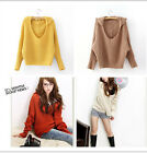 New Women's Hooded short paragraph pullover Long Sleeve Sweater,Free Shipping