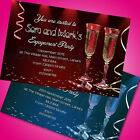 Personalised Engagement Party Invitations Invites E4