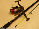 New 12ft Beachcaster Max Sea  Fishing Rod & Reel (1 or 2  Rod Sets)
