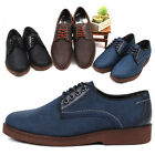 New Trend Mens Speed Casual Lace Up Shoes Navy