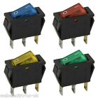 09050 Snap-In Illuminated Rocker Switch 10A 250V OFF-ON I-0 SPST 3 Pin