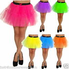 NEON  TUTU  PETTICOAT  80'S  FANCY DRESS SKIRT party