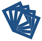 Blue Photo/ Picture Mount all sizes up to11x9 single/ packs free shipping