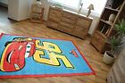 NEW ! CHILDRENS CARPET DISNEY ACRYLIC ! VERY SOFT AND NICE TO  TOUCH ! CARS  95