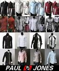 8 Tops Shirts Collection New Designer Mens Slim Fit Dress Casual Shirts IN 4Size