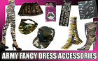 ARMY FANCY DRESS ACCESSORIES MILITARY COMBAT SOLDIER ADULT COSTUME ACCESORY