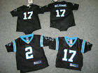 CAROLINA PANTHERS Infant 1piece, Tshirt or Jersey, Sizes from 24 month -4T, NWT